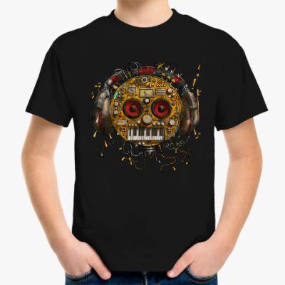 Детская футболка Робот