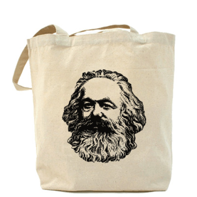 Сумка Холщовая сумка  Карл Маркс