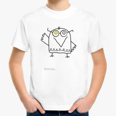 Детская футболка Ворро!