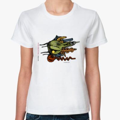 Классическая футболка  Трикстер (жен)