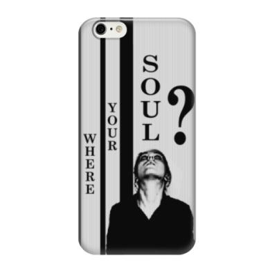 Чехол для iPhone 6/6s Where your soul?