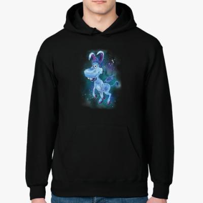 Толстовка худи Happy the unicorn