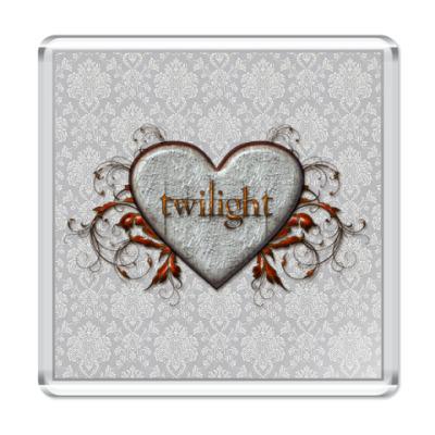 Магнит Twilight heart