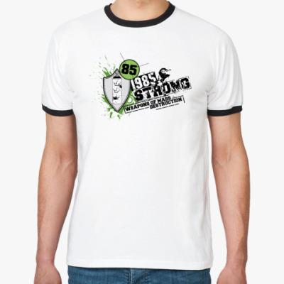 Футболка Ringer-T 1985 strong