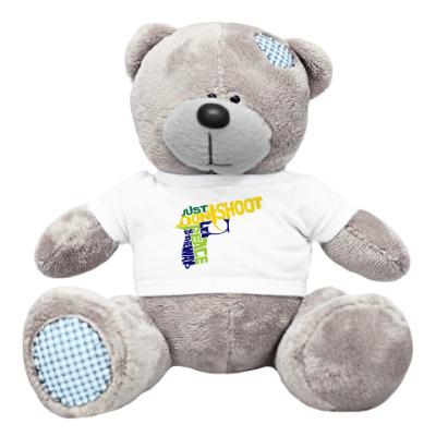 Плюшевый мишка Тедди Не стрелять - путь к миру