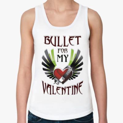 Женская майка Bullet for my Valentine