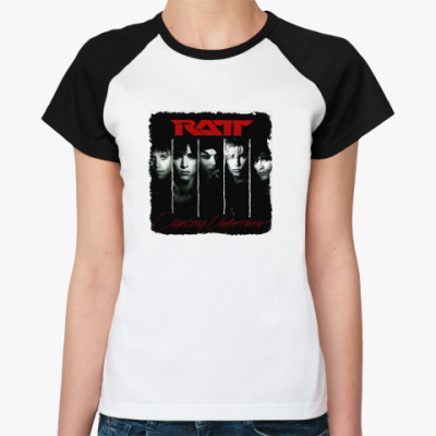 Женская футболка реглан Ratt