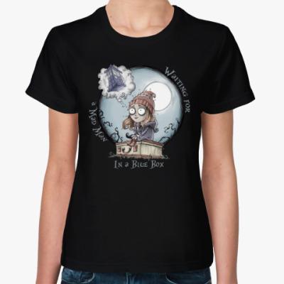 Женская футболка Девочка, которая ждала