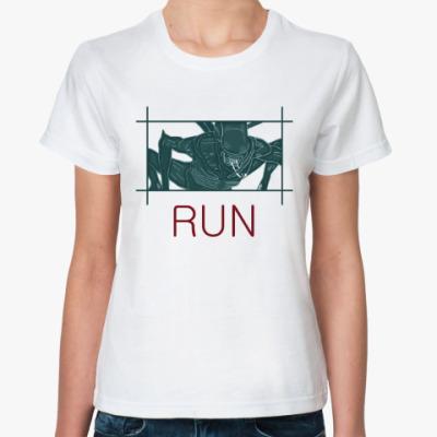 Классическая футболка Чужой.Завет