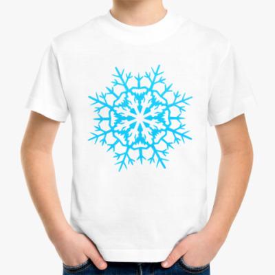 Детская футболка Бумажная снежинка