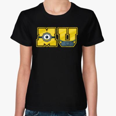 Женская футболка Университет Миньонов