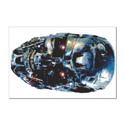 Наклейка (стикер) Терминатор Т-800