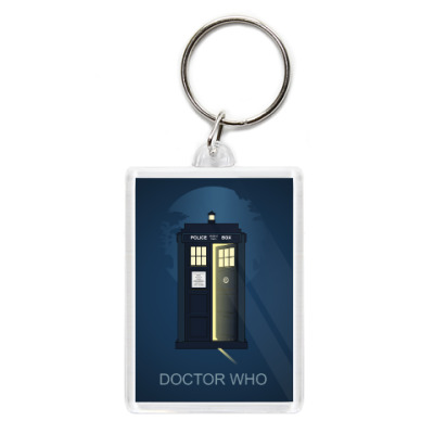 Брелок Doctor Who