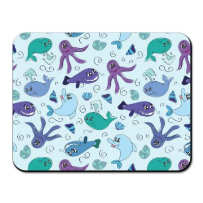 Коврик для мыши Морской мир