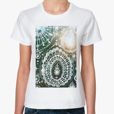 Классическая футболка Лес