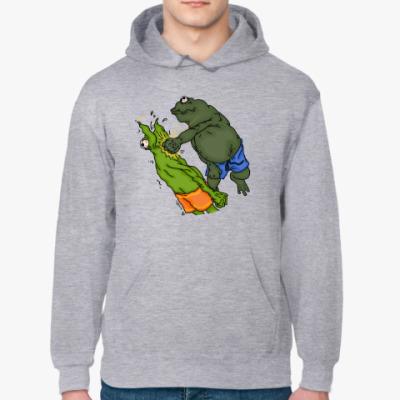 Толстовка худи Toad vs Frog