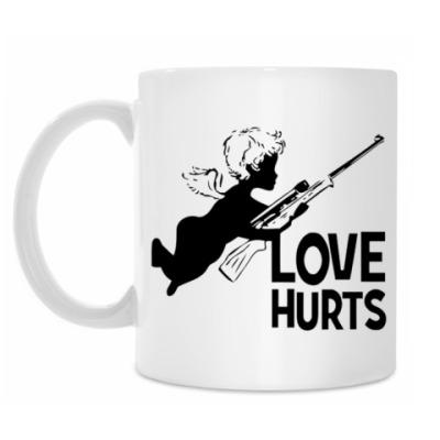 Кружка Love hurts