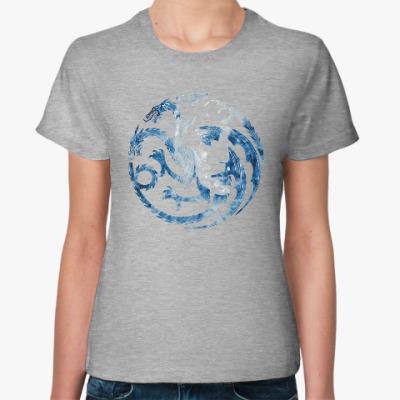 Женская футболка Khaleesi and Dragons