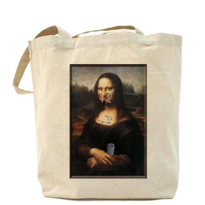 Сумка Испорченная Мона Лиза