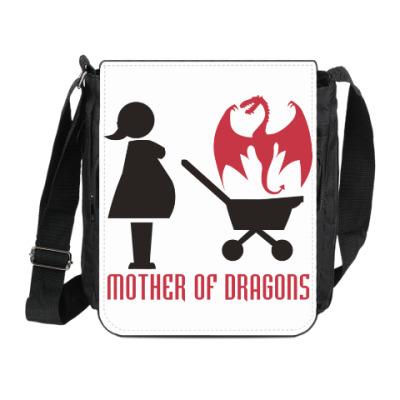 Сумка на плечо (мини-планшет) Мать драконов