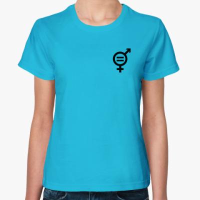 Женская футболка Равноправие
