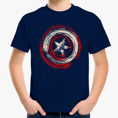 Детская футболка Щит Капитана