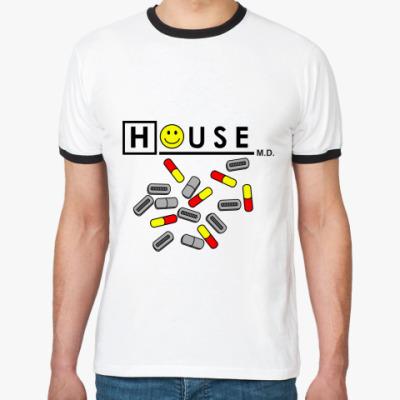 Футболка Ringer-T House