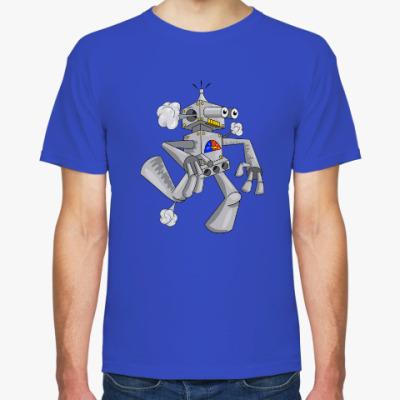 Футболка Бегущий робот