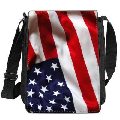 Сумка-планшет Американский флаг (USA)