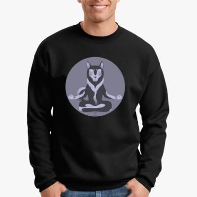 Свитшот Animal Zen: H is for Husky