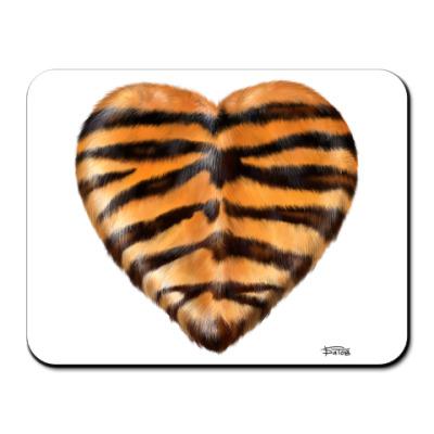 Коврик для мыши  TigerHeart