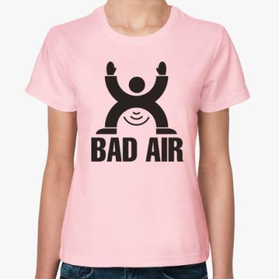 Женская футболка Плохой воздух