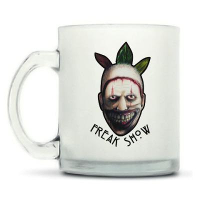 Кружка матовая Freakshow horror clown