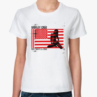 Классическая футболка Motley Crue