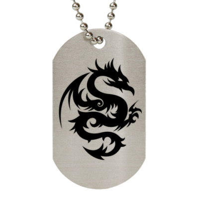 Жетон dog-tag  Dragon