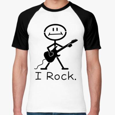 Футболка реглан I Rock