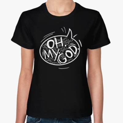 Женская футболка Friends - Oh My God!