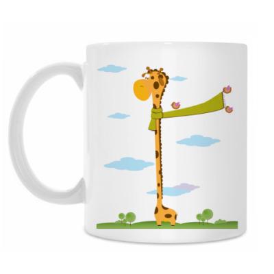 Кружка Самый высокий жираф