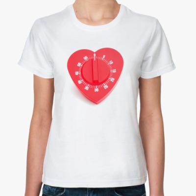 Классическая футболка Таймер