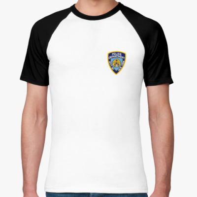 Футболка реглан  NYPD