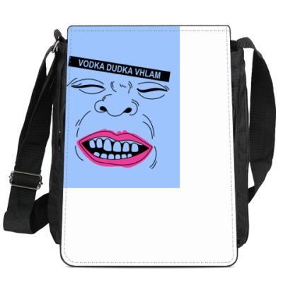 Сумка-планшет Водка дудка вхлам