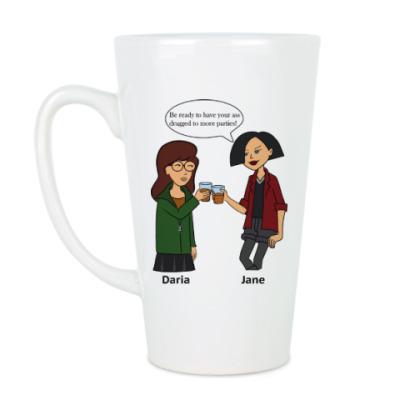 Чашка Латте Daria and Jane