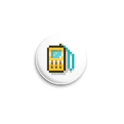 Значок 25мм  ICQ Статус #26