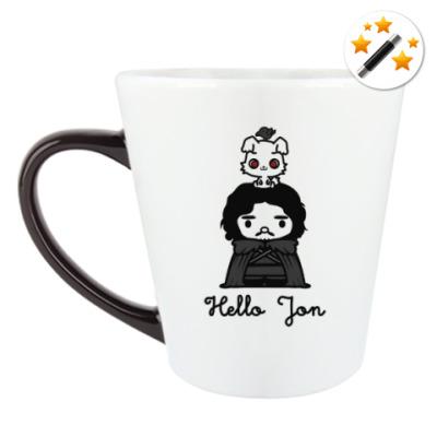 Кружка-хамелеон Hello Jon
