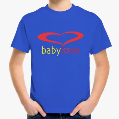 Детская футболка Baby Love
