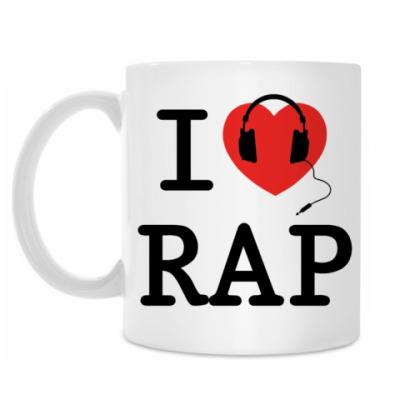 Кружка I Love Rap