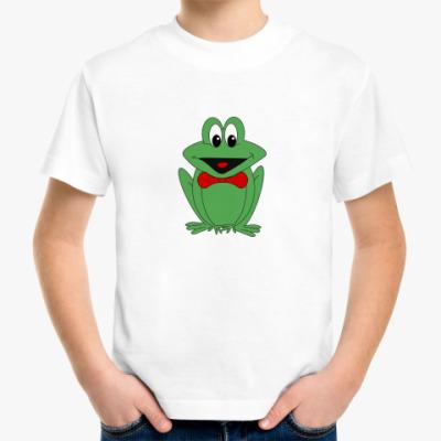 Детская футболка Лягушонок