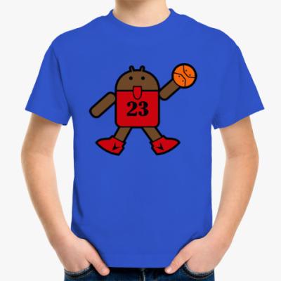 Детская футболка Jordan Android