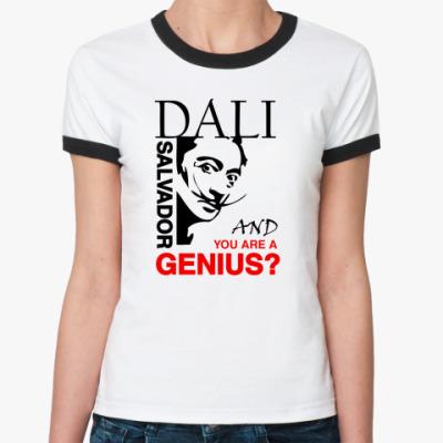 Женская футболка Ringer-T DALI