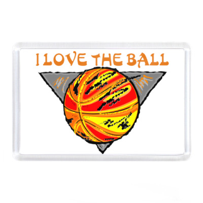 Магнит I Love The Ball